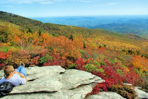 Asheville NC is located in the western North Carolina mountains